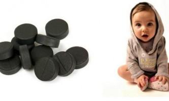 Активоване вугілля для дітей - незамінний засіб в домашній аптечці