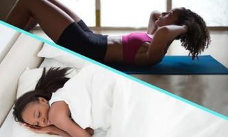 Що важливіше - спати або займатися спортом?