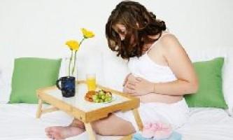 Дієта вагітної жінки