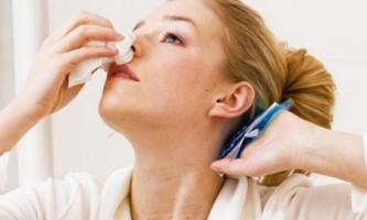 Як зупинити кровотечу з носа перша допомога усунення цієї недуги