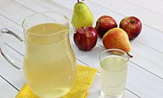 Як зробити компот з яблук