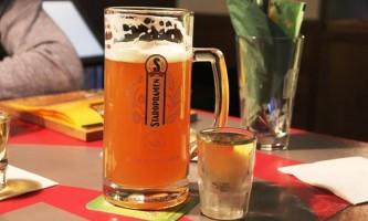 Чи можна пити горілку з пивом?