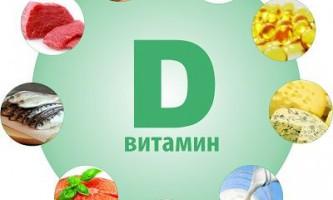 Продукти, що містять вітамін д (d)
