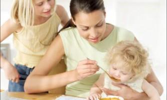 Раціональне харчування дітей