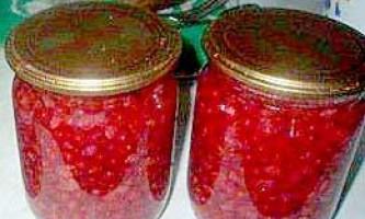 Смородина червона маринована