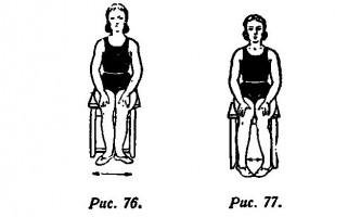 Вправи для зняття больових відчуттів, викликаних деформацією стоп, відкладенням солей або віковим плоскостопістю - фізична культура для жінок в літньому віці